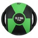 13.2 lb. / 6 Kg Reactor Medicine Ball with Handle (Kelly Green) by