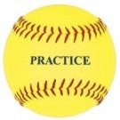 12'' Yellow Practice Softballs (1 Dozen)