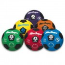 MacGregor® Multicolor Size 5 Soccer Ball Prism Pack (Set of 6 Balls)