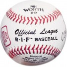 Worth RIF® Level 5 Little League Baseballs - Ages 8 - 12 (1 Dozen)