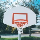 Powder Coated Finish Aluminum Backboard