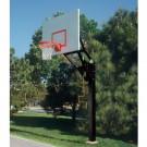 Bison Ultimate Adjustable Steel Basketball System by