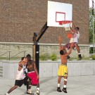 Bison Ultimate™ Fixed Height Basketball System
