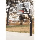 Bison Ultimate Glass Outdoor Basketball System with Pads