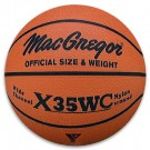 MacGregor® X-35WC Men's Rubber Basketball