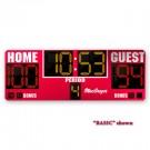 MacGregor® 3' x 8' Basketball Scoreboard with Double Bonus