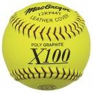 MacGregor® 11'' .44/375 ASA Yellow Poly Softballs (1 Dozen)