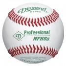 Diamond D1-PRONFHS Professional Baseballs - 1 Dozen
