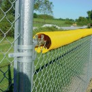100' Roll of Bright Yellow Fence Crown