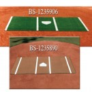 6' x 12' Synthetic Turf Pitcher's Mat
