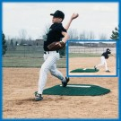 Youth League Baseball Pitching Mound