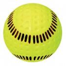 "Baden Yellow 12"" Seamed Machine Softballs (1 Dozen)"