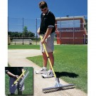 "36"" Baserunner Rake with Removable Handle"