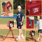 Bulldog Single Wheel Baseball Softball Combo Pitching Machine