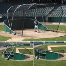 Big Bubba Pro Portable Baseball Batting Cage