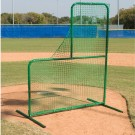 7'H x 6'W Varsity L-Shaped Pitcher's Protective Screen