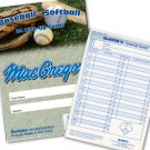 Baseball / Softball Line-Up Card Booklet