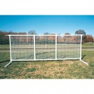 "44"" Portable SportPanel® Fencing - White"