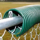 Poly-Cap Fence Protector (Green) - 100' Roll