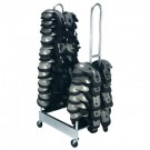 2 Stack Shoulder Pad Rack by