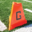 Poly Flag Football Sideline Marker Set (11 Pieces)