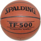 TF-500 Men's Composite Leather Basketball from Spalding