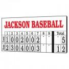 Hanging Numbers Baseball Scoreboard from MacGregor®