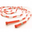 10' Red / White Segmented Skip Rope (Set of 20)