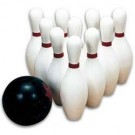 2.5 lb. Two Finger Rubber Bowling Ball (BALL ONLY)