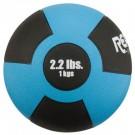 2.2 lb. / 1 Kg Reactor Rubber Medicine Ball (Light Blue)