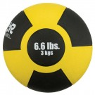 6.6 lb. / 3 Kg Reactor Rubber Medicine Ball (Yellow)