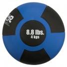 8.8 lb. / 4 Kg Reactor Rubber Medicine Ball (Royal)