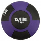 15.4 lb. / 7 Kg Reactor Rubber Medicine Ball (Purple)