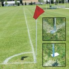 "60""H Economy Soccer Flag Set - Set of 4"