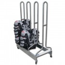 Pro-Down Double Wide Shoulder Pad Rack