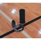 Volleyball Floor Plate and Ground Sleeve Set