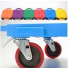 """16"""" Multi-Terrain Caster Scooter Boards (Assorted) - Set of 6 by"""