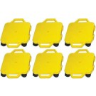 "12"" Ultra Glide Scooter Board in Yellow (Set of 6)"