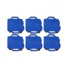 "12"" Ultra Glide Scooter Board in Blue (Set of 6)"
