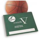 "8 1/2"" x 11"" Cramer's Mark V Basketball Scorebook - Set of 4"