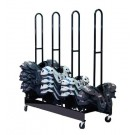 Four Stack Football Shoulder Pad Rack by