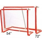 "72"" Collapsible Floor Hockey Goal by"