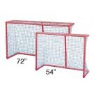"54""W x 42""H x 27""D Pro Street Hockey Goal"