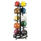 Deluxe Medicine Ball Storage Cart by