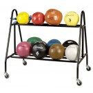 Medicine Ball Storage Cart by