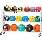 Deluxe Medicine Ball Cart by