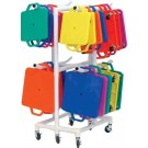 Scooter Board ABS Storage Cart by