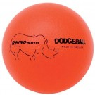 "6"" Rhino Skin® Neon Orange Dodge Balls - Set of 6"