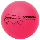 "6"" Rhino Skin® Neon Pink Dodge Balls - Set of 6"