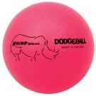 "6"" Rhino Skin® Neon Pink Dodge Balls - Set of 6"